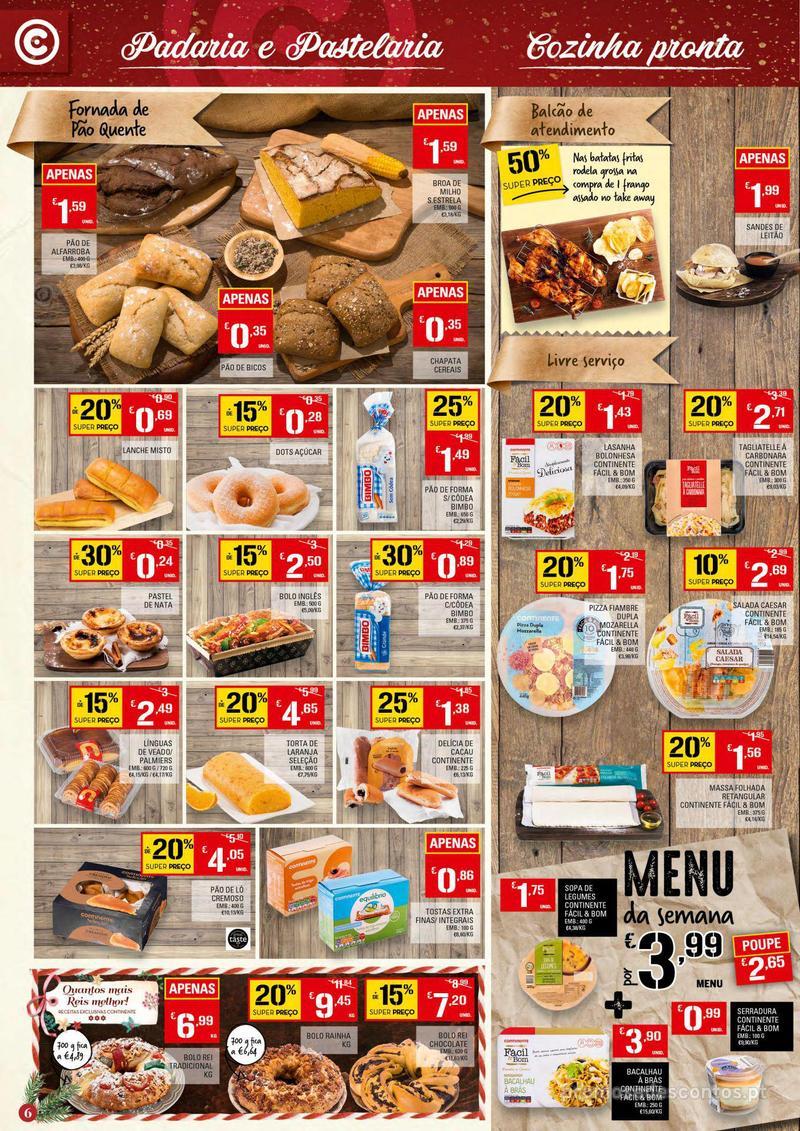 Folheto Continente Tudo aos preços mais baixos - Continente Bom dia - 4 de Dezembro a 10 de Dezembro - página 6