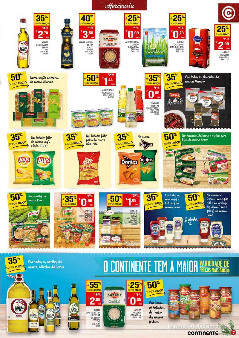 Folheto Continente Tudo aos preços mais baixos - Continente Bom dia - 4 de Dezembro a 10 de Dezembro - página 7