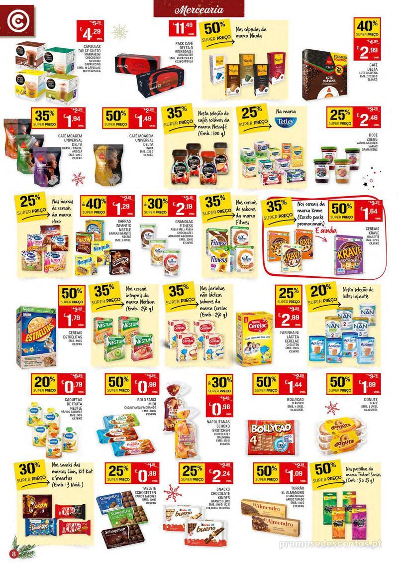 Folheto Continente Tudo aos preços mais baixos - Continente Bom dia - 4 de Dezembro a 10 de Dezembro - página 8