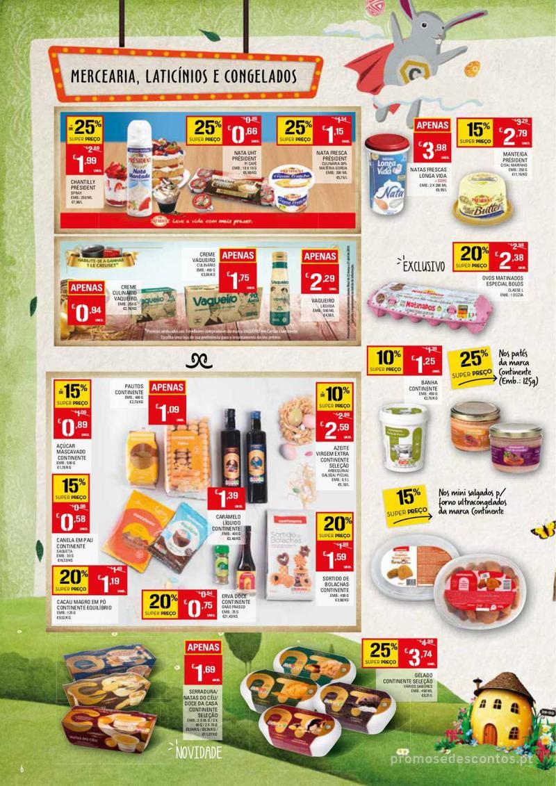 Folheto Continente Feira da Páscoa - 26 de Março a 22 de Abril - página 6