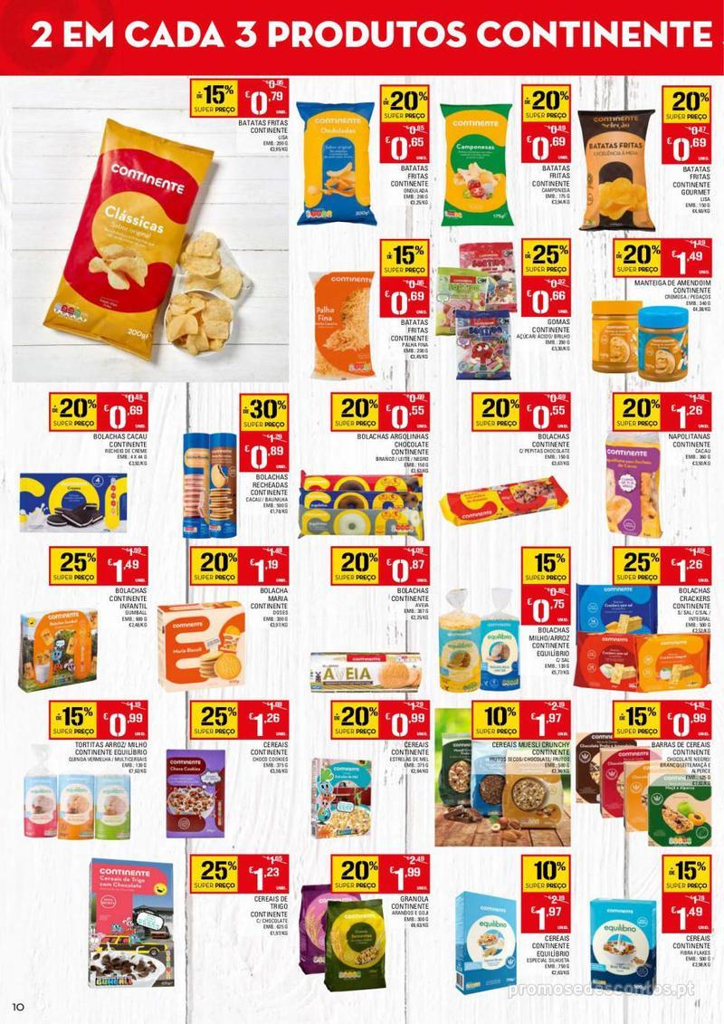 Folheto Continente Tudo aos preços mais baixos - 13 de Agosto a 19 de Agosto - página 10