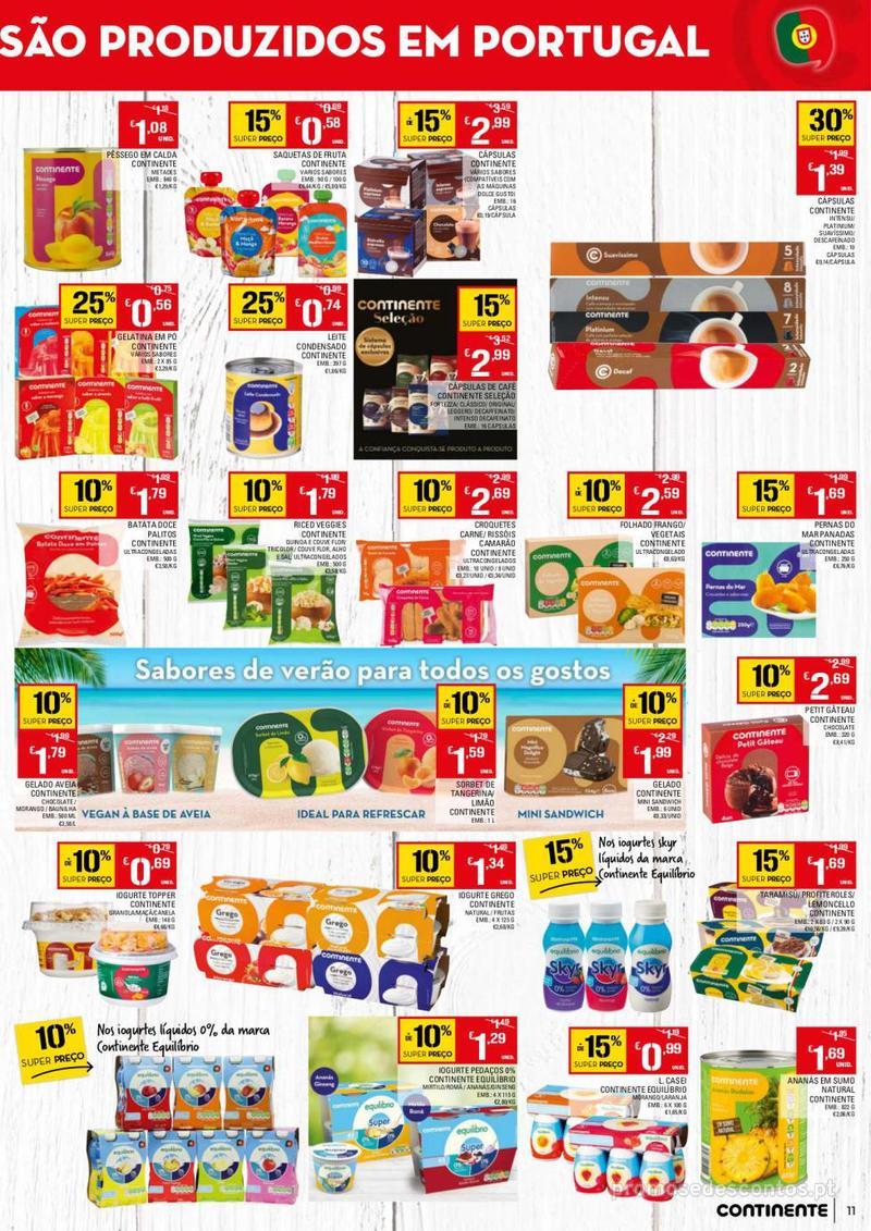 Folheto Continente Tudo aos preços mais baixos - 13 de Agosto a 19 de Agosto - página 11