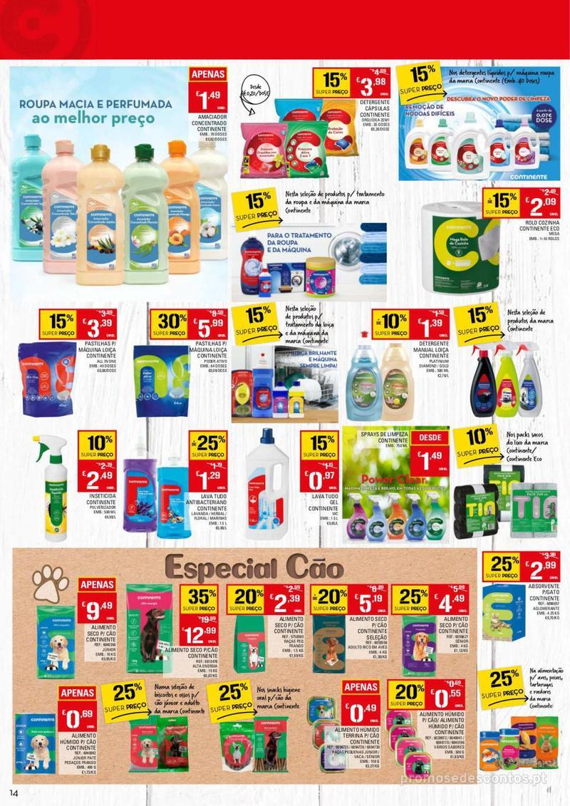 Folheto Continente Tudo aos preços mais baixos - 13 de Agosto a 19 de Agosto - página 14
