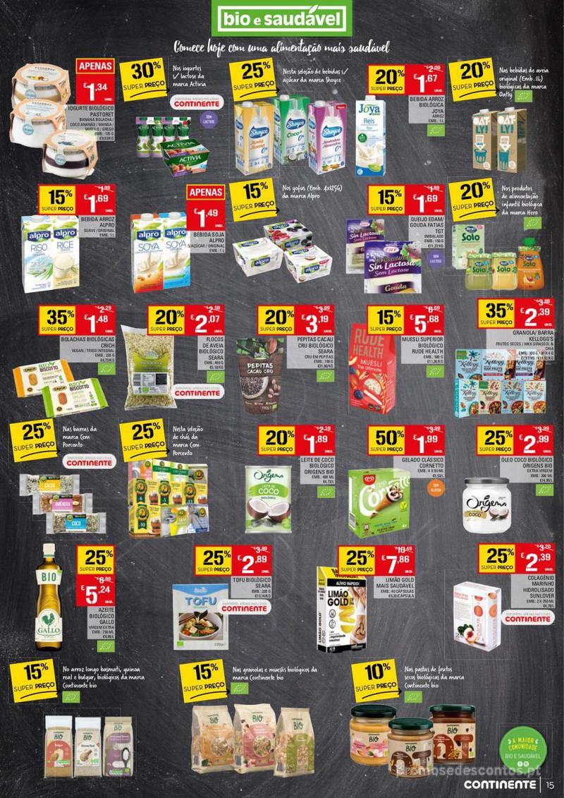 Folheto Continente Tudo aos preços mais baixos - 13 de Agosto a 19 de Agosto - página 15