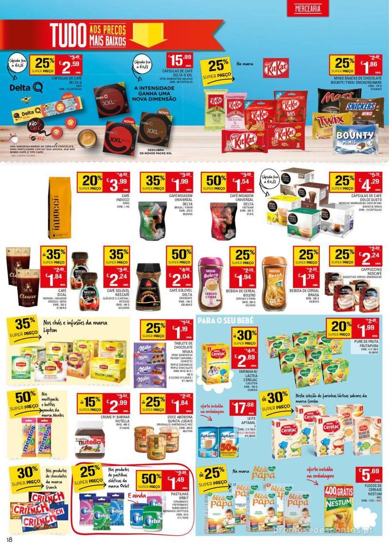 Folheto Continente Tudo aos preços mais baixos - 13 de Agosto a 19 de Agosto - página 18