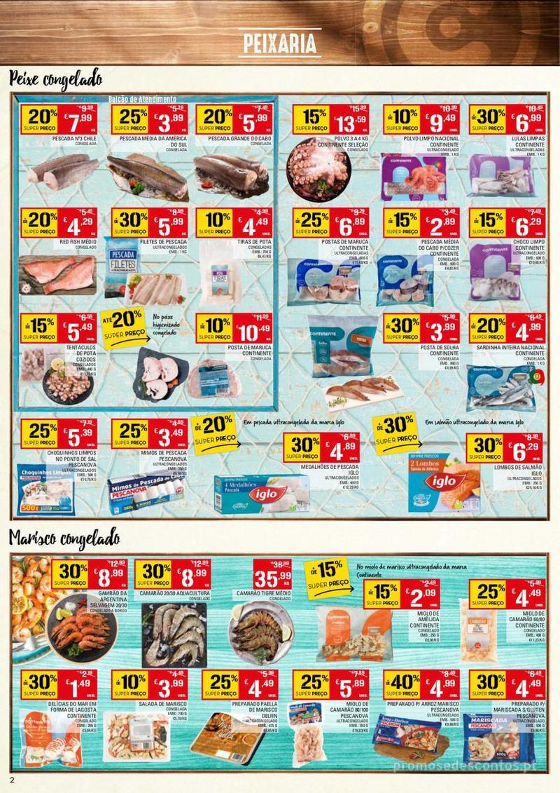 Folheto Continente Tudo aos preços mais baixos - 13 de Agosto a 19 de Agosto - página 2