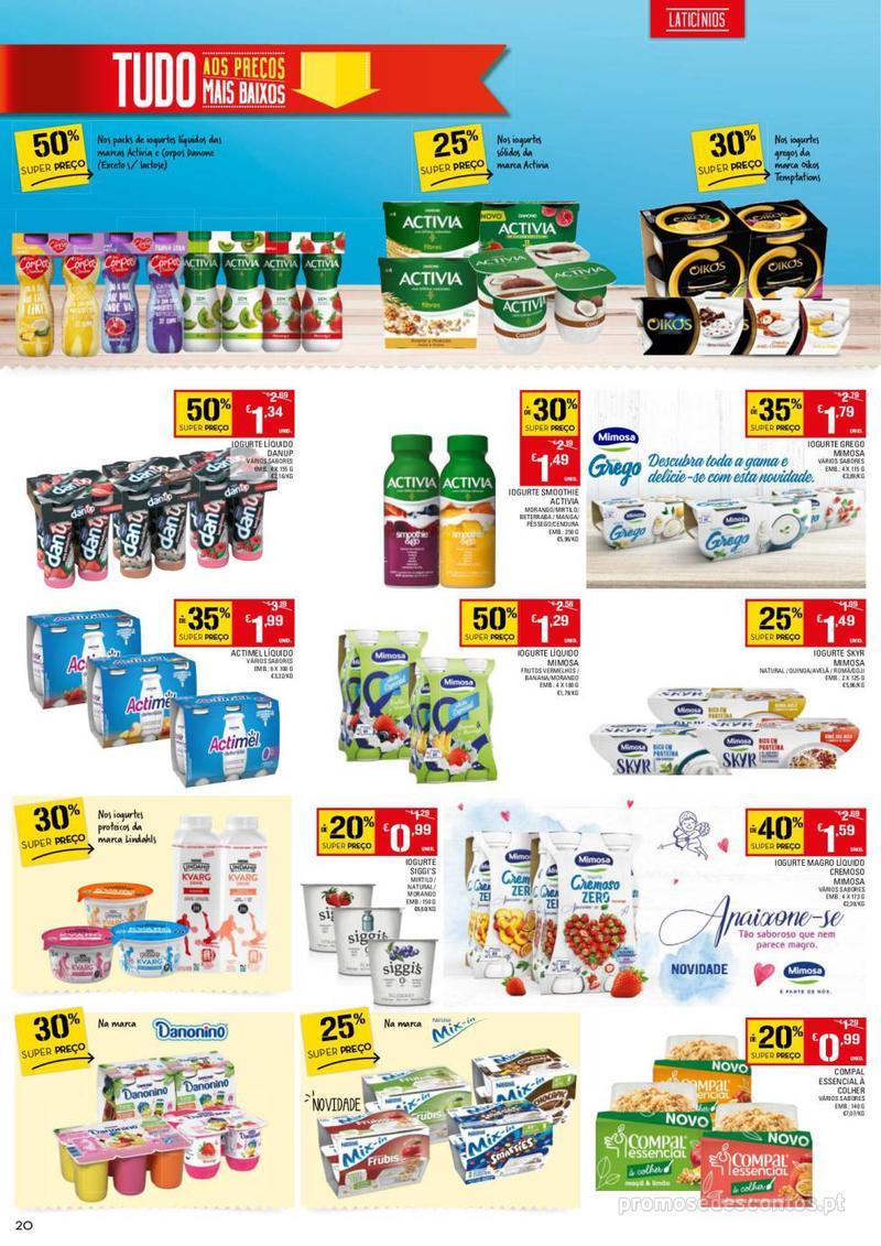 Folheto Continente Tudo aos preços mais baixos - 13 de Agosto a 19 de Agosto - página 20