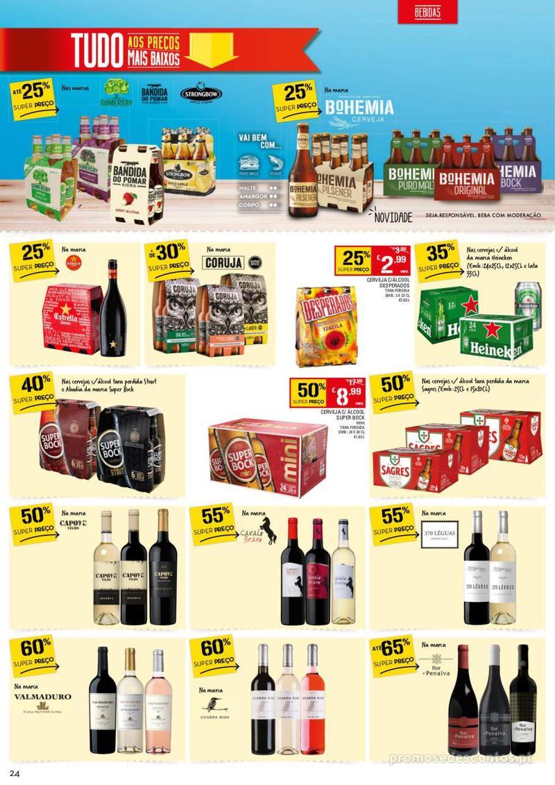 Folheto Continente Tudo aos preços mais baixos - 13 de Agosto a 19 de Agosto - página 24