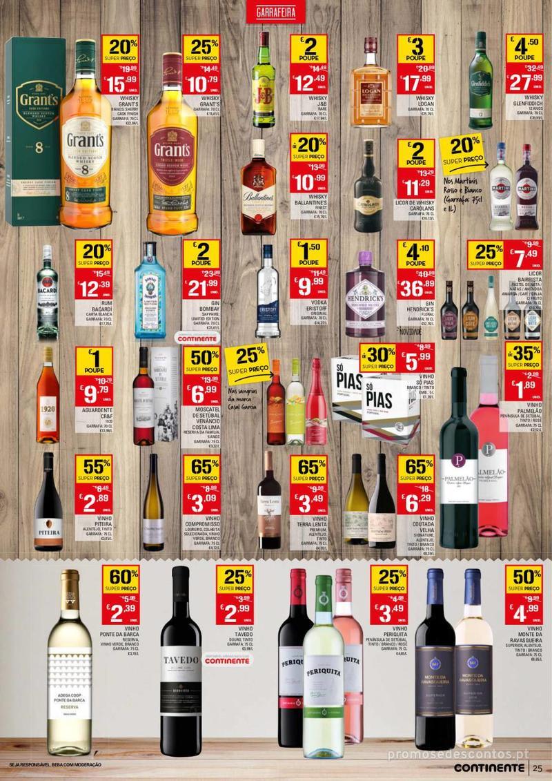 Folheto Continente Tudo aos preços mais baixos - 13 de Agosto a 19 de Agosto - página 25