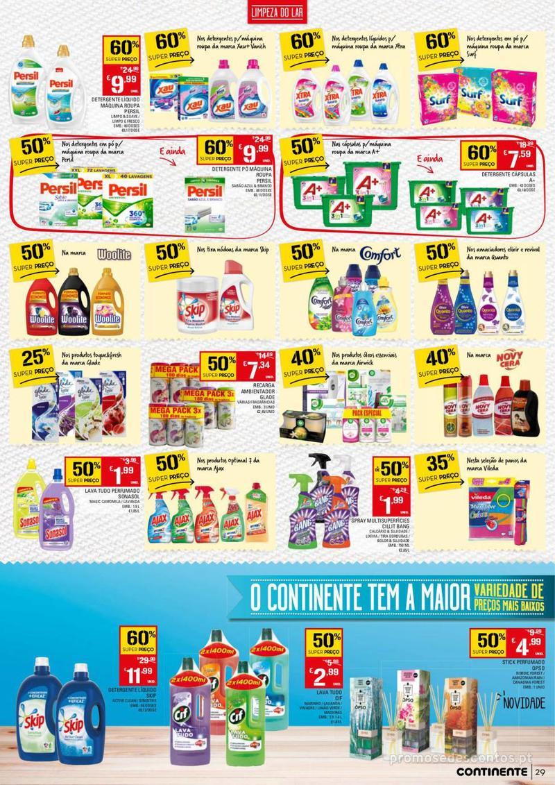 Folheto Continente Tudo aos preços mais baixos - 13 de Agosto a 19 de Agosto - página 29