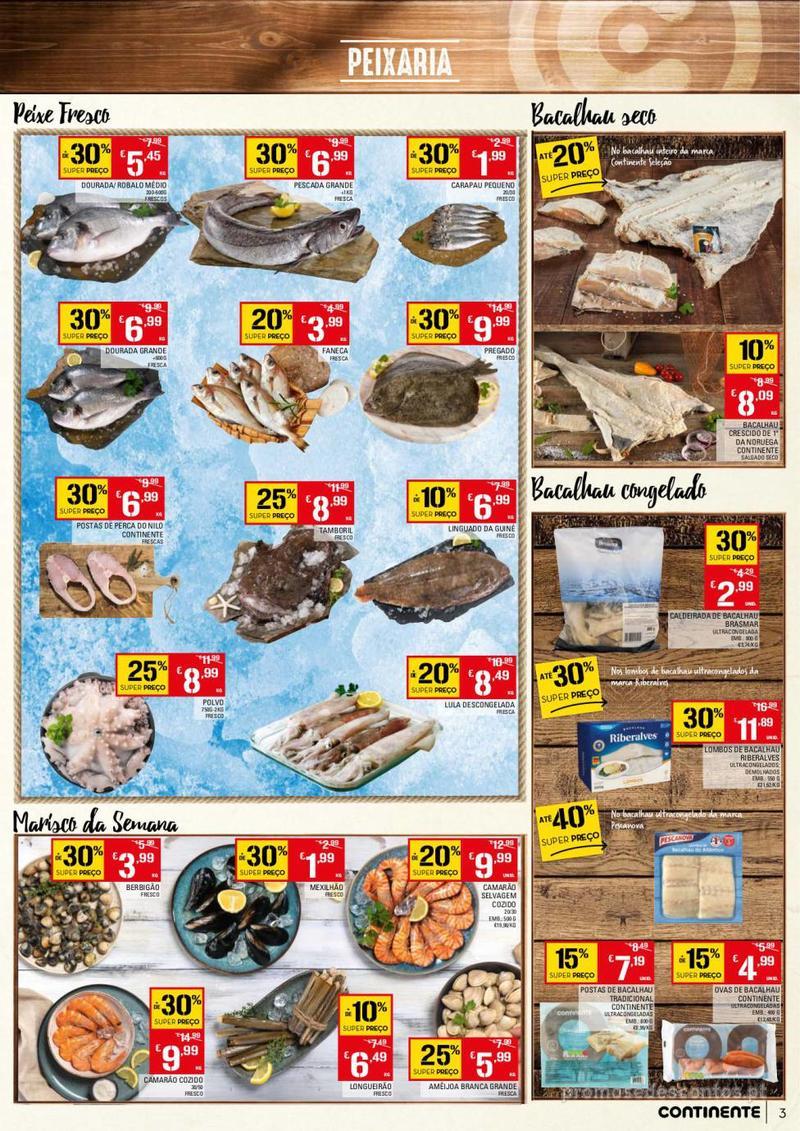 Folheto Continente Tudo aos preços mais baixos - 13 de Agosto a 19 de Agosto - página 3