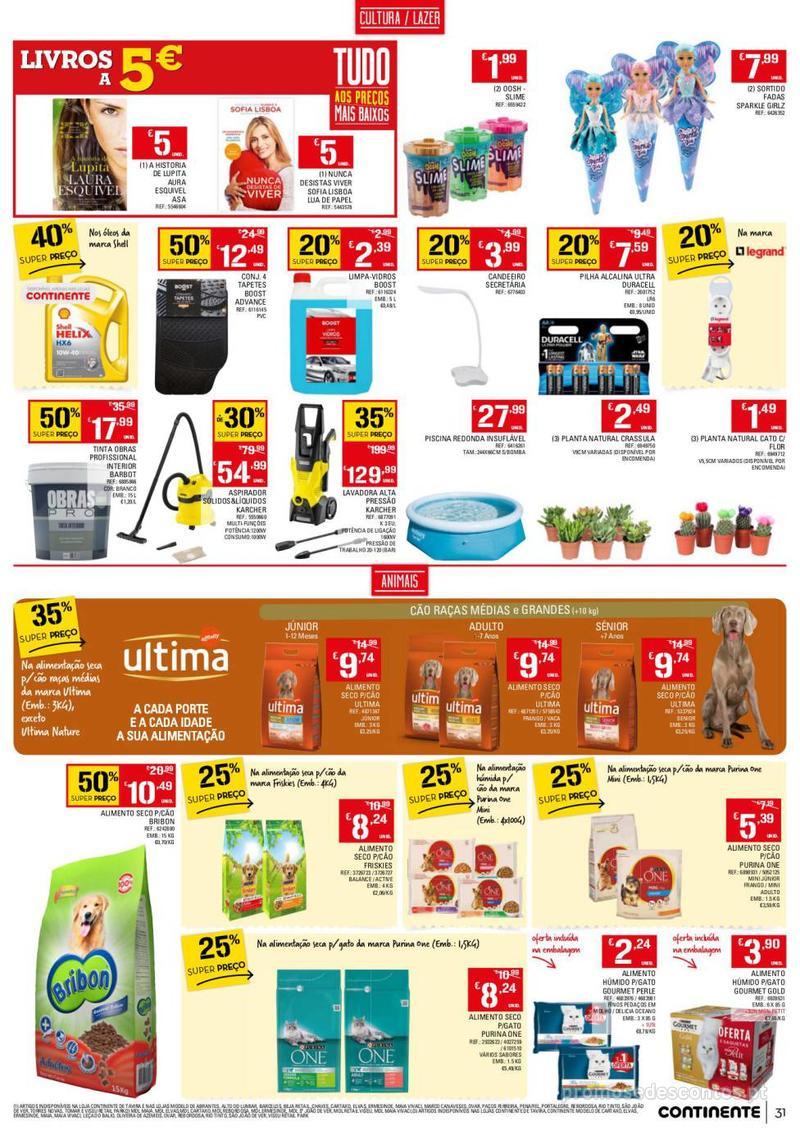 Folheto Continente Tudo aos preços mais baixos - 13 de Agosto a 19 de Agosto - página 31