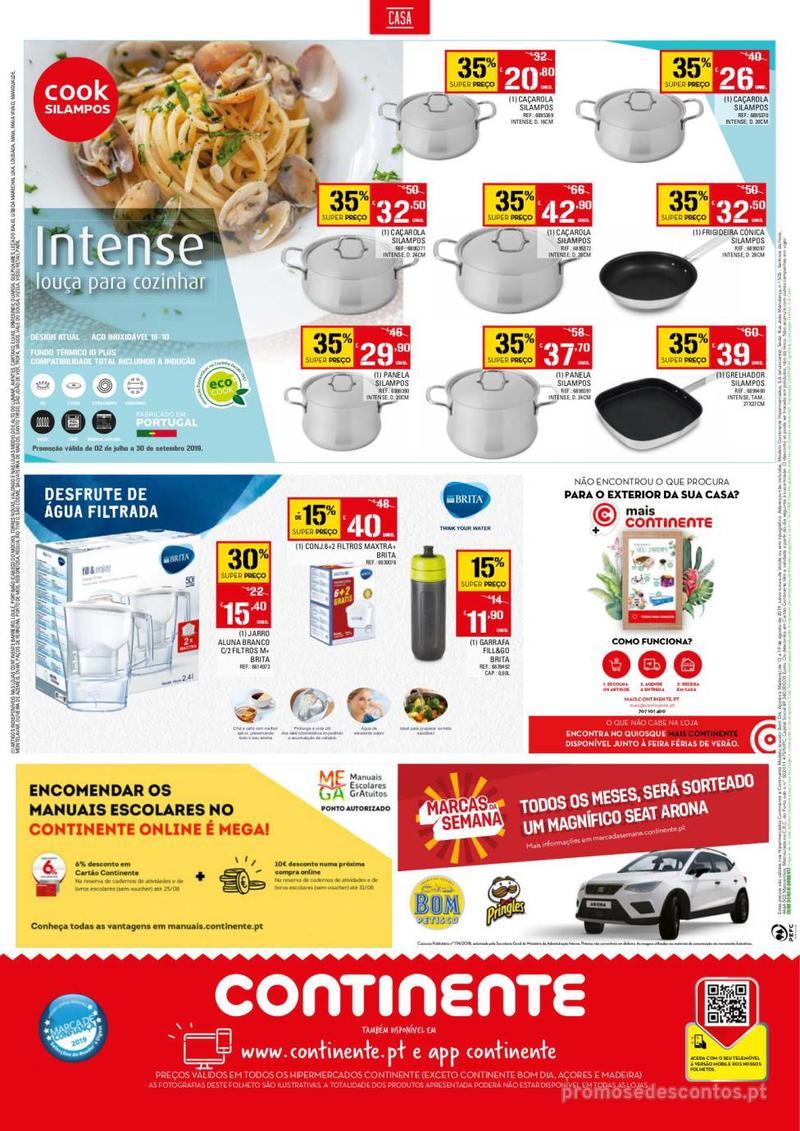 Folheto Continente Tudo aos preços mais baixos - 13 de Agosto a 19 de Agosto - página 32