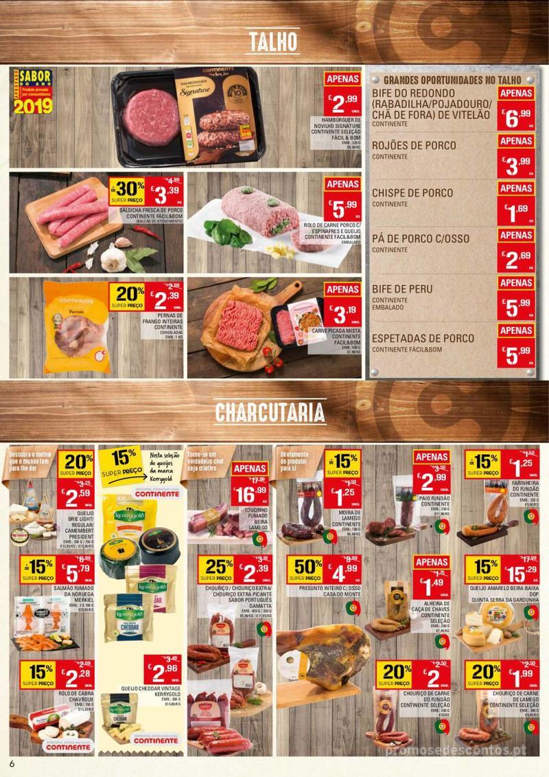 Folheto Continente Tudo aos preços mais baixos - 13 de Agosto a 19 de Agosto - página 6