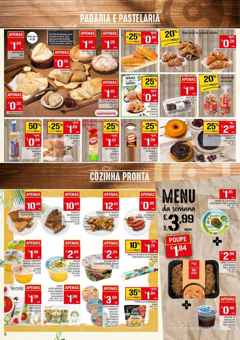 Folheto Continente Tudo aos preços mais baixos - 13 de Agosto a 19 de Agosto - página 8