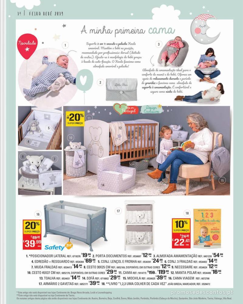 Folheto Continente Feira do Bebé - 7 de Janeiro a 28 de Janeiro - página 14