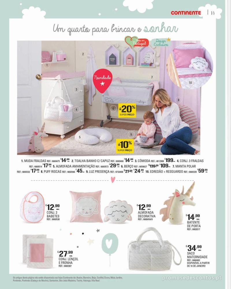 Folheto Continente Feira do Bebé - 7 de Janeiro a 28 de Janeiro - página 15