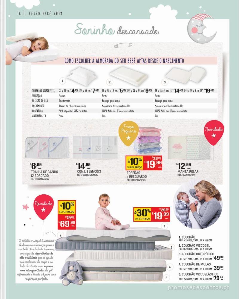 Folheto Continente Feira do Bebé - 7 de Janeiro a 28 de Janeiro - página 16
