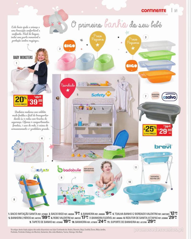 Folheto Continente Feira do Bebé - 7 de Janeiro a 28 de Janeiro - página 17