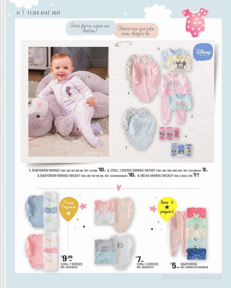 Folheto Continente Feira do Bebé - 7 de Janeiro a 28 de Janeiro - página 18