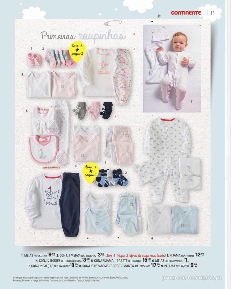 Folheto Continente Feira do Bebé - 7 de Janeiro a 28 de Janeiro - página 19
