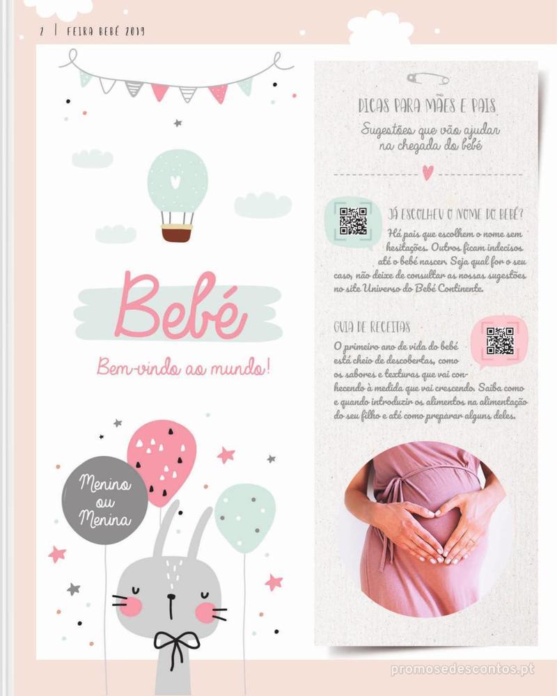 Folheto Continente Feira do Bebé - 7 de Janeiro a 28 de Janeiro - página 2