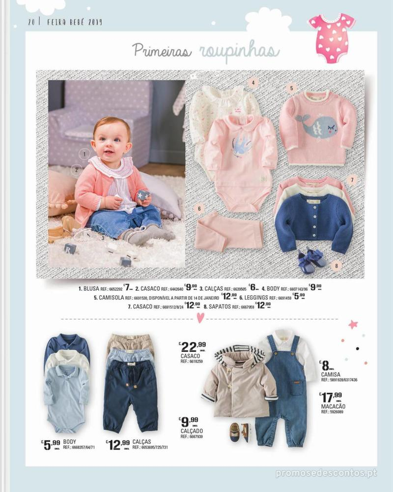 Folheto Continente Feira do Bebé - 7 de Janeiro a 28 de Janeiro - página 20