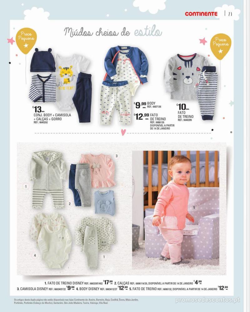 Folheto Continente Feira do Bebé - 7 de Janeiro a 28 de Janeiro - página 21