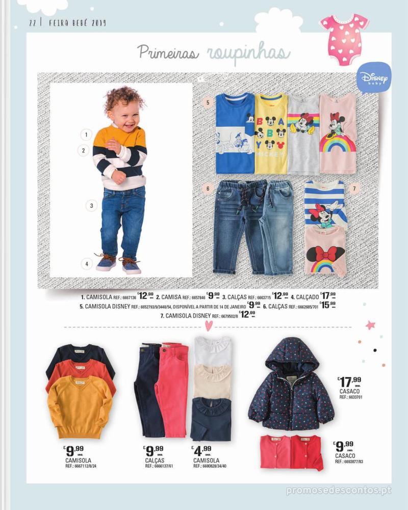 Folheto Continente Feira do Bebé - 7 de Janeiro a 28 de Janeiro - página 22