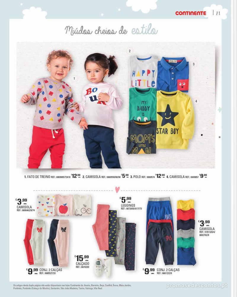 Folheto Continente Feira do Bebé - 7 de Janeiro a 28 de Janeiro - página 23