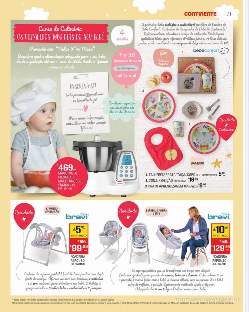 Folheto Continente Feira do Bebé - 7 de Janeiro a 28 de Janeiro - página 27