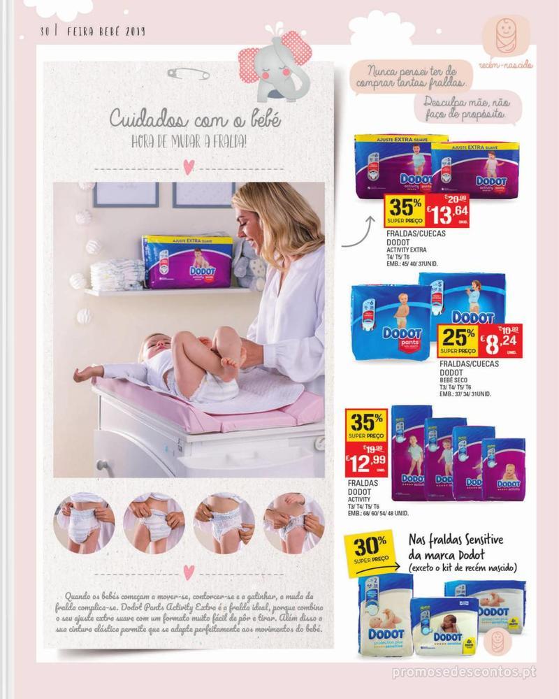 Folheto Continente Feira do Bebé - 7 de Janeiro a 28 de Janeiro - página 30