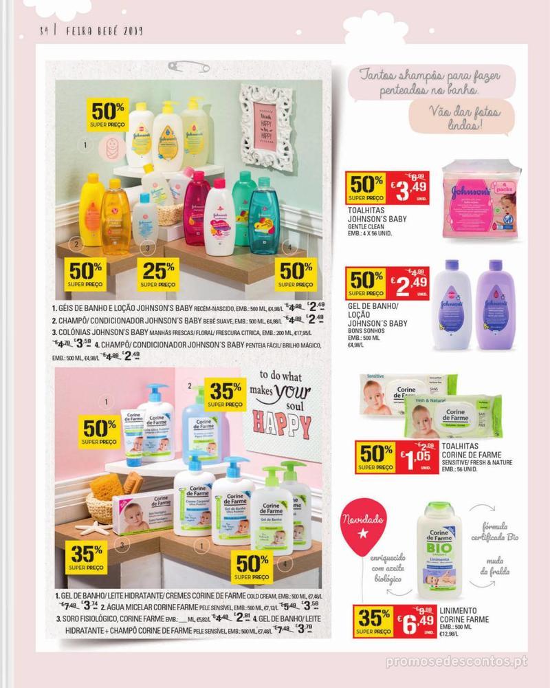 Folheto Continente Feira do Bebé - 7 de Janeiro a 28 de Janeiro - página 34