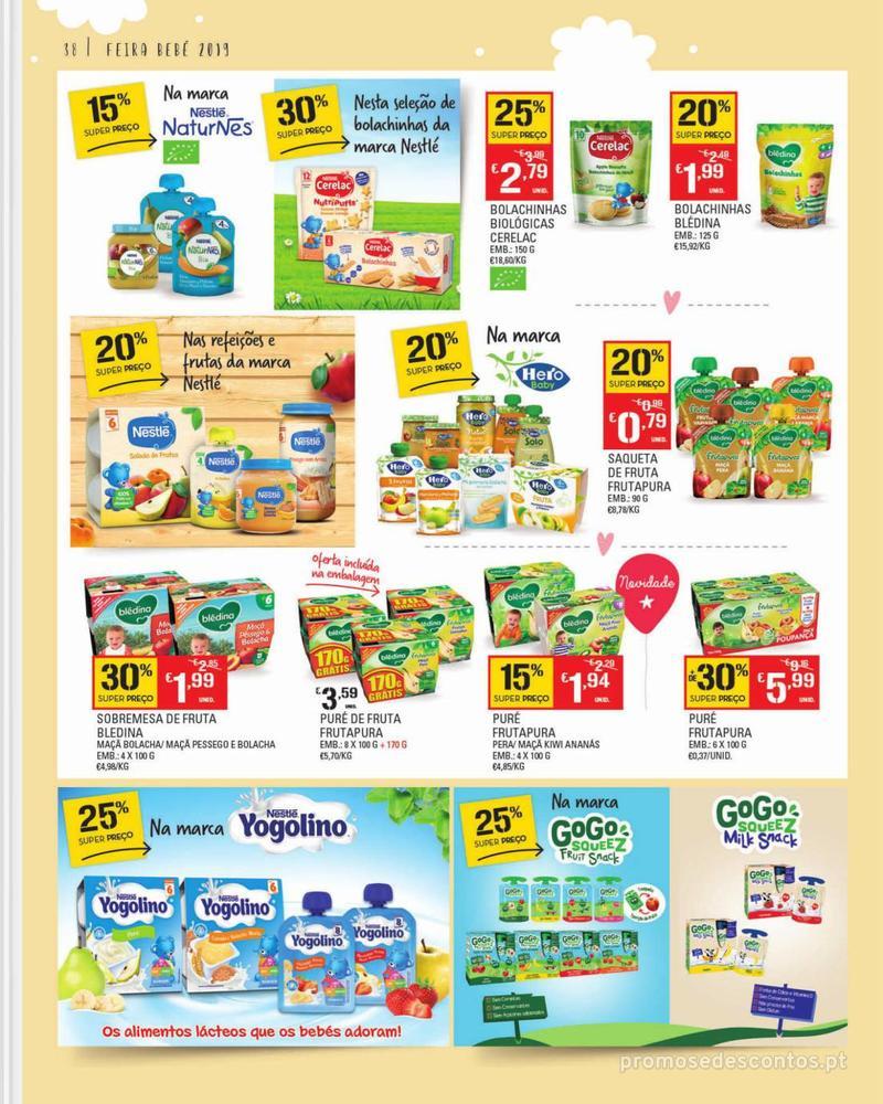 Folheto Continente Feira do Bebé - 7 de Janeiro a 28 de Janeiro - página 38