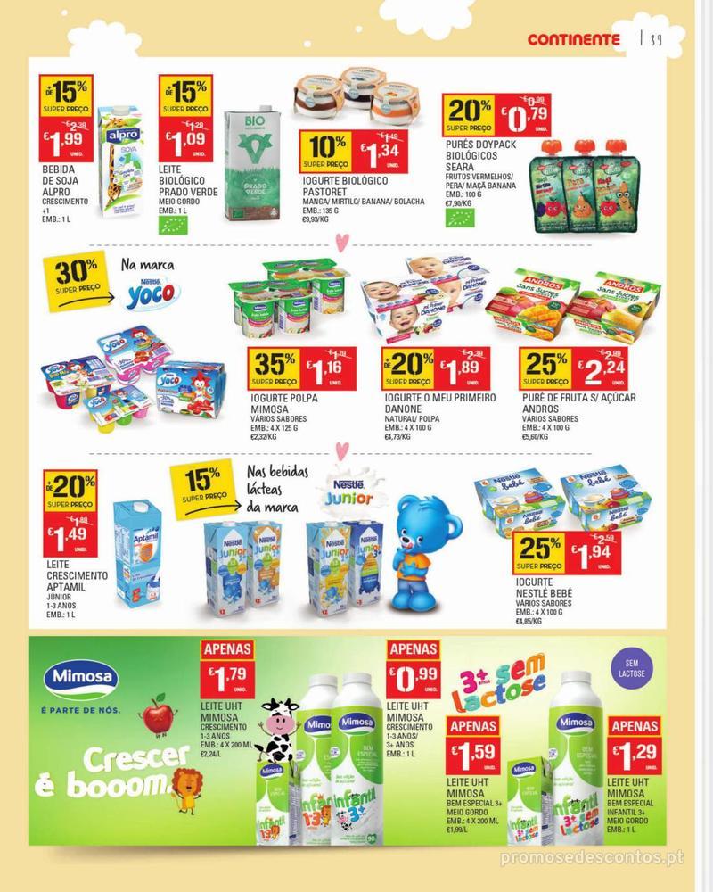 Folheto Continente Feira do Bebé - 7 de Janeiro a 28 de Janeiro - página 39