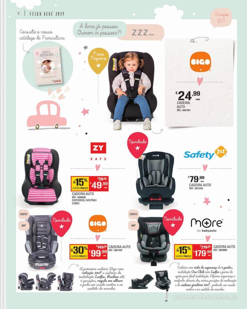 Folheto Continente Feira do Bebé - 7 de Janeiro a 28 de Janeiro - página 4