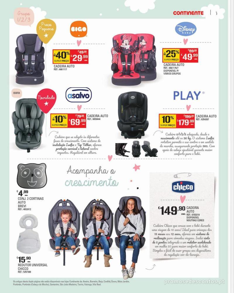 Folheto Continente Feira do Bebé - 7 de Janeiro a 28 de Janeiro - página 5
