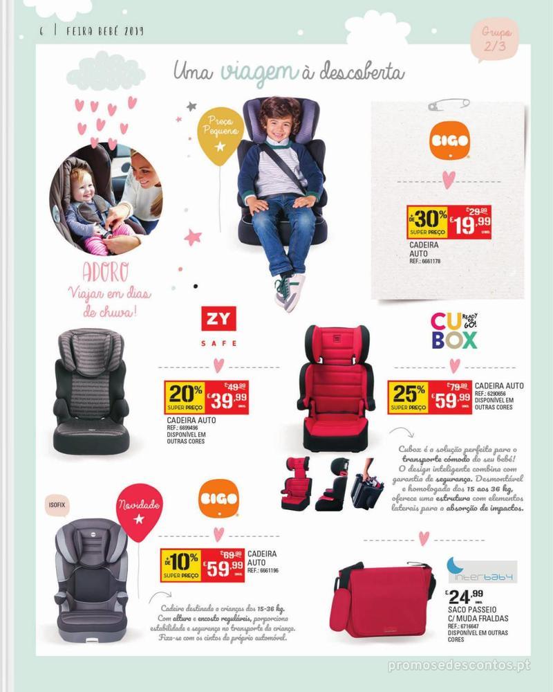 Folheto Continente Feira do Bebé - 7 de Janeiro a 28 de Janeiro - página 6