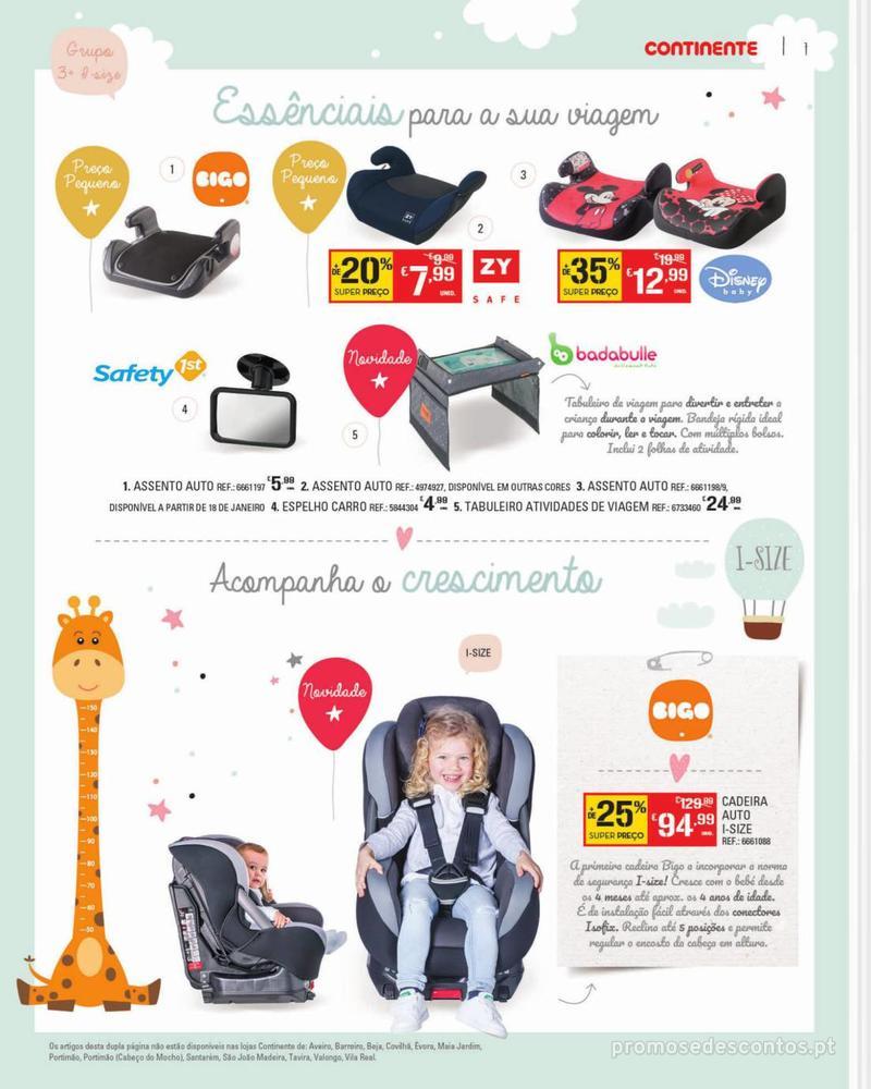 Folheto Continente Feira do Bebé - 7 de Janeiro a 28 de Janeiro - página 7