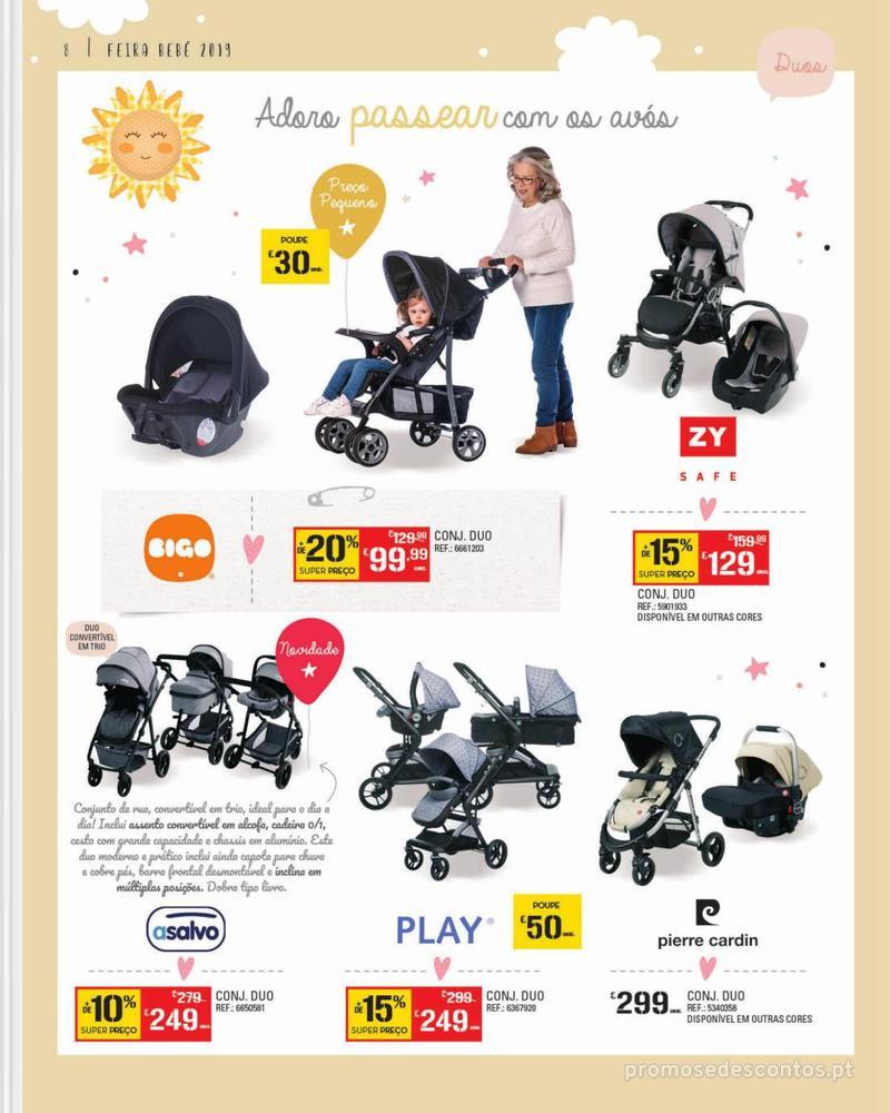 Folheto Continente Feira do Bebé - 7 de Janeiro a 28 de Janeiro - página 8