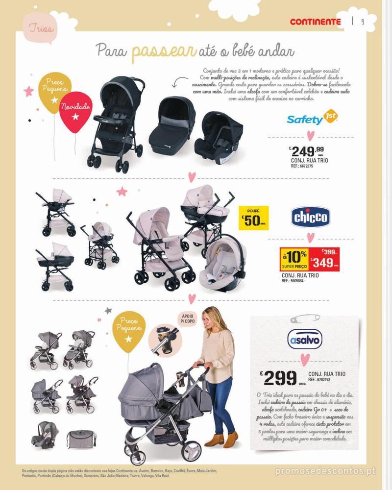 Folheto Continente Feira do Bebé - 7 de Janeiro a 28 de Janeiro - página 9