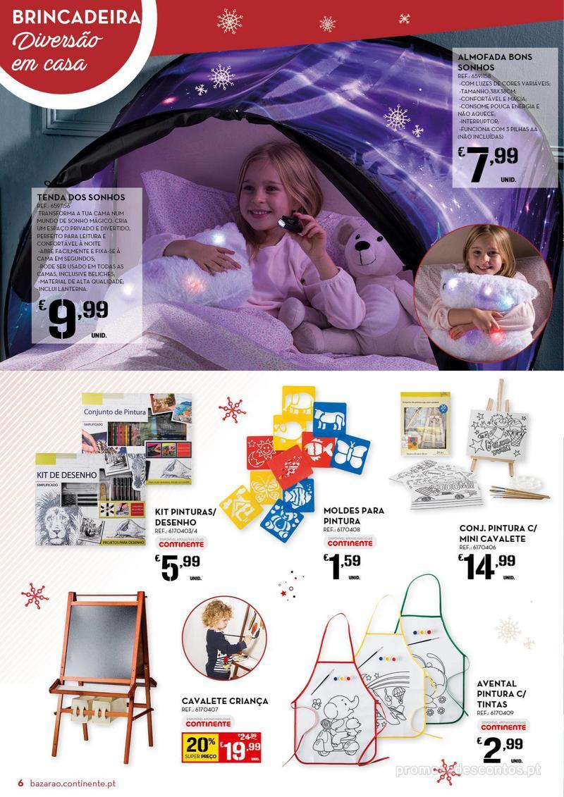 Folheto Continente Bazarão  - 4 de Dezembro a 10 de Dezembro - página 6