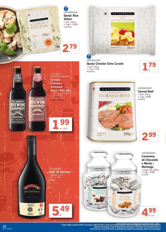 Folheto Lidl XXL a preços XXS - 7 de Janeiro a 13 de Janeiro - página 12