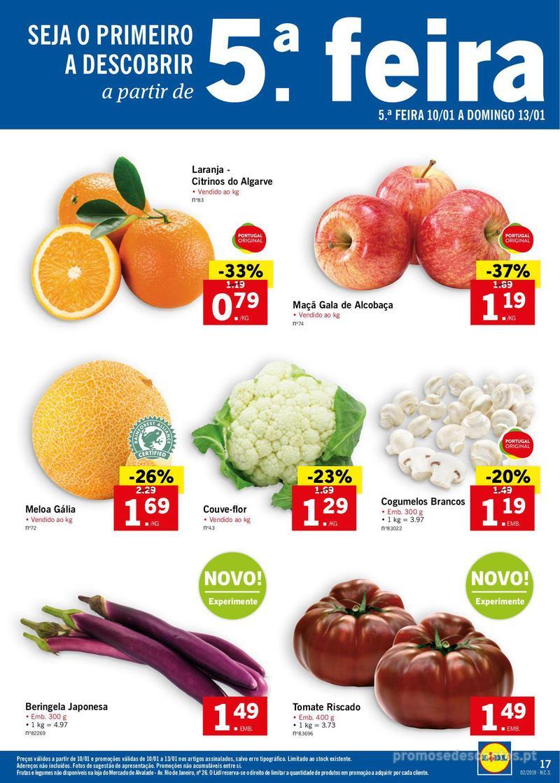 Folheto Lidl XXL a preços XXS - 7 de Janeiro a 13 de Janeiro - página 17