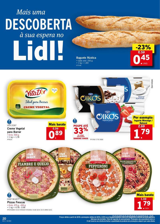 Folheto Lidl XXL a preços XXS - 7 de Janeiro a 13 de Janeiro - página 20