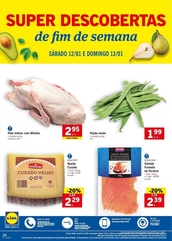 Folheto Lidl XXL a preços XXS - 7 de Janeiro a 13 de Janeiro - página 24