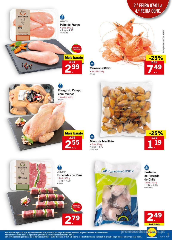 Folheto Lidl XXL a preços XXS - 7 de Janeiro a 13 de Janeiro - página 3