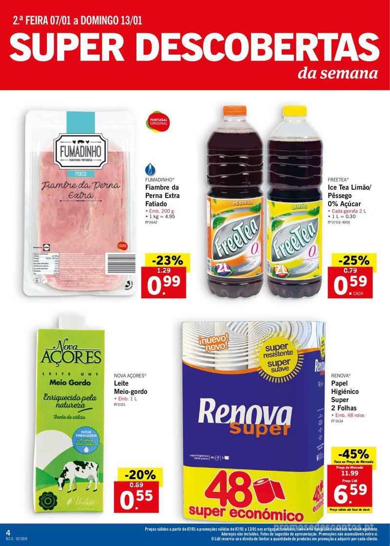 Folheto Lidl XXL a preços XXS - 7 de Janeiro a 13 de Janeiro - página 4