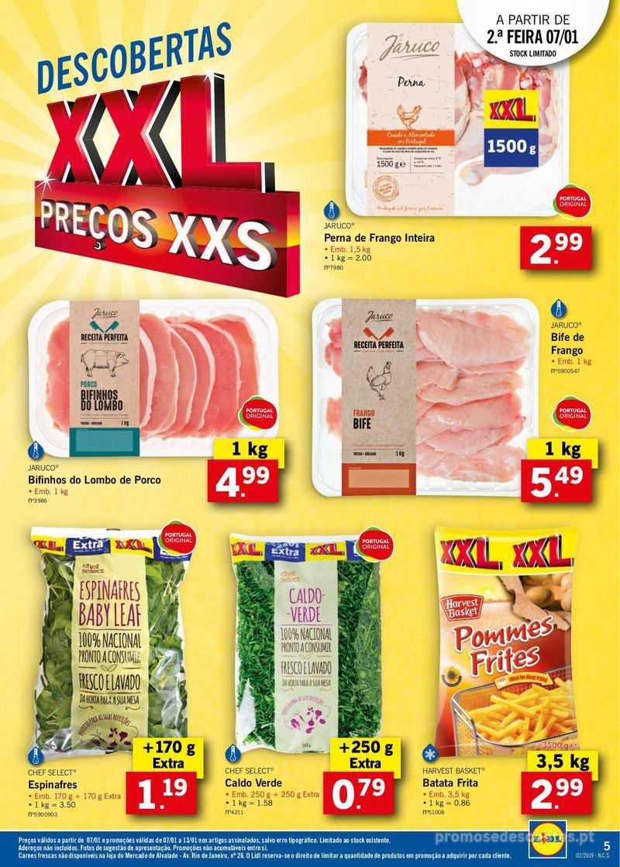 Folheto Lidl XXL a preços XXS - 7 de Janeiro a 13 de Janeiro - página 5