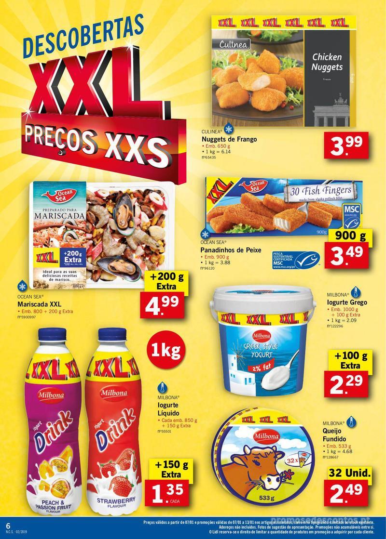Folheto Lidl XXL a preços XXS - 7 de Janeiro a 13 de Janeiro - página 6